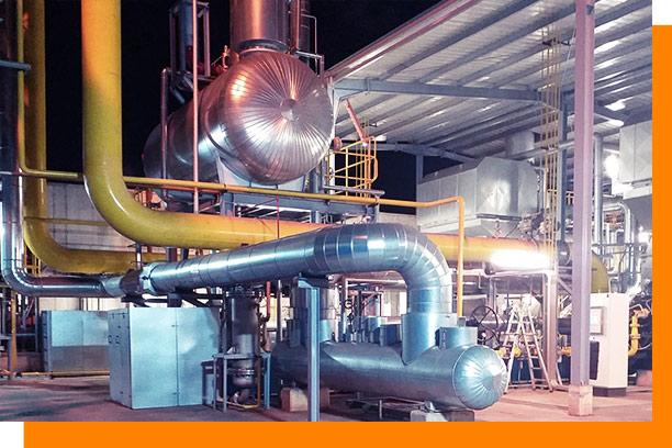 Sistema de supervisión de planta de generación de vapor y agua desmineralizada